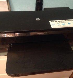 Струйный принтер HP Officejet 7110 без картриджа.