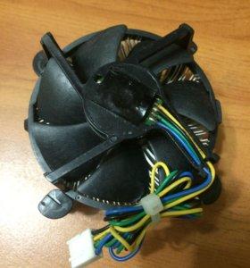 Кулер с радиатором, сокет 775