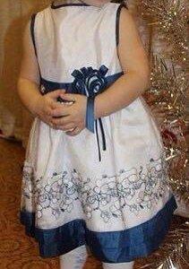 итальянское платье на 2 года