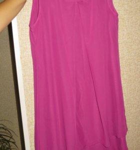 Платье шифоновое р.48