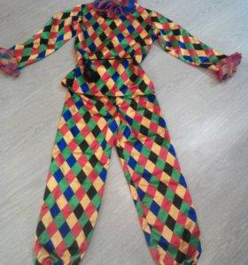 Детский карнавальный костюм Арлекино