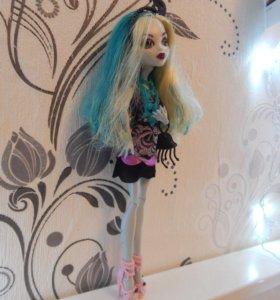 Кукла Monster High Лагуна Блю Страх!Камера!Мотор!