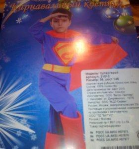 Новогодний карнавальный костюм 146 Супер мен