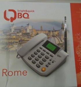 Стационарный телефон на 2 сим-карты