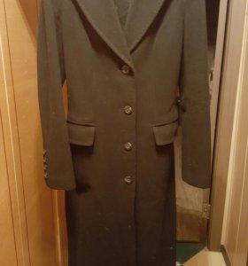 Пальто драповое осеннее