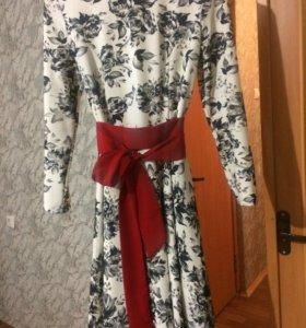 Платье миди 44-46 размера