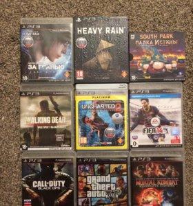 Игры для PS3(GTA 5, Mortal Kombat и др)