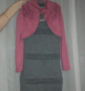 Платье на 6-8