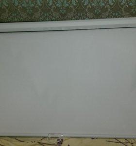 Настенный ручной экран для проектора