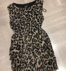 Платье новое вечернее леопардовое