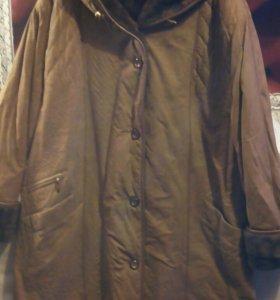 Зимнее,женское пальто б/у