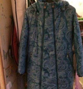 Пальто для беременных 2в1