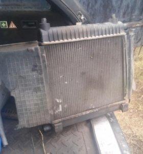 Радиатор мерседес w124