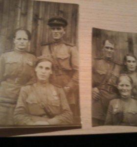Фотографии военных лет