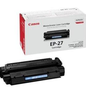 Картридж Canon EP-27 (заправленный)