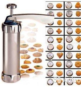 Кондитерский шприц Куки Пресс для печенья и крема