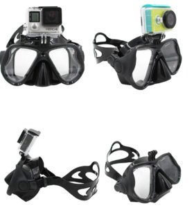 Новая маска для плавания с креплением для камеры