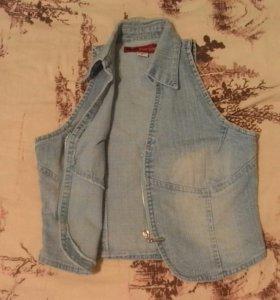 Топ.джинсовой Р-S