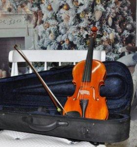 Скрипка. Производство горонок.