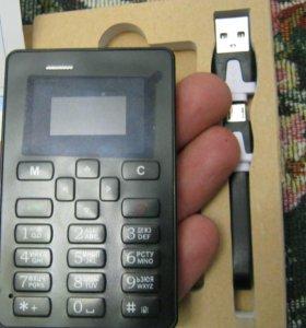 Новый  телефон кредитка