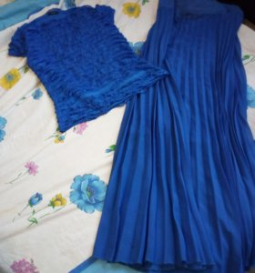 Комплект юбка и ковточка
