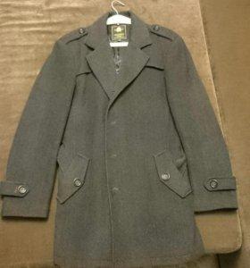 Пальто мужское демисезонное френч