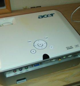 Проектор fullhd dlp. Модель acer h7530d