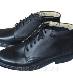 Ботинки хромовые армейские