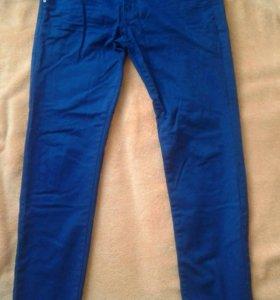 Джинсы синие мужские
