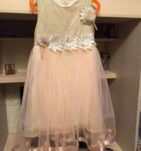 Детское вечернее платья