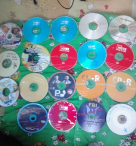 21 дисков с музыкой