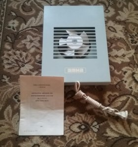 Вентилятор вытяжной бытовой