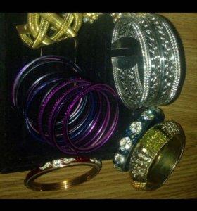 Бижутерия браслеты кольца новое распродажа