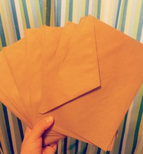 конверты крафт