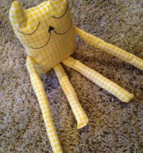 Игрушка мягка -котик Сплюшка
