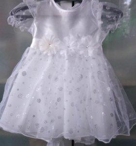 Красивое платье для маленькой девочки
