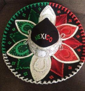 Шляпа карнавальная Мексиканская