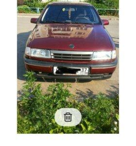 Opel Vectra 1.8МТ, 1992, седан, битый