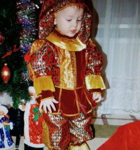 Новогодний костюм 2.5-3  года.