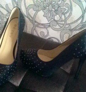 Туфли женские ,кожаные 37 размер