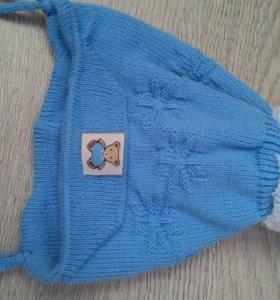 Новая шапочка на новорожденного