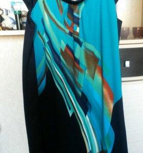 Платье трикотаж новое