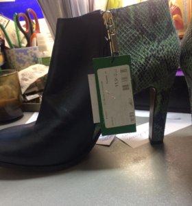 Ботинки женские р 41 новые