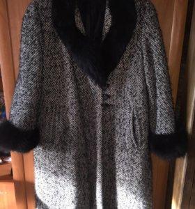 Пальто, очень тёплое