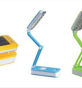 Светодиодная лампа с диммером и солнечной батареей