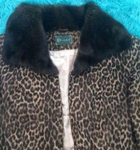 Кожаная натуральная курточка