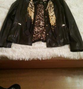 Кожаная куртка от Orsa Couture, Италия