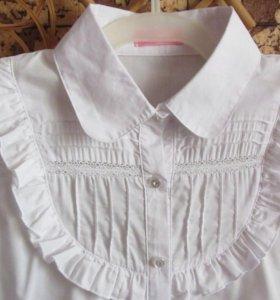 Блузка новая на 7-8 лет