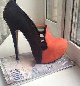 Ботильоны-туфли