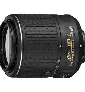 Объектив Nikon 55-200mm f/4-5.6g AF-S DX ED VR II